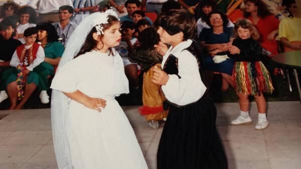 Αναπαράσταση παραδοσιακού κυπριακού γάμου