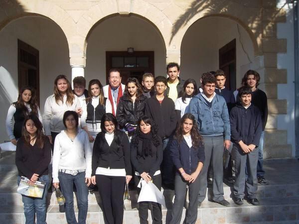 Επίσκεψη στο Γυμνάσιο Ριζοκαρπάσου