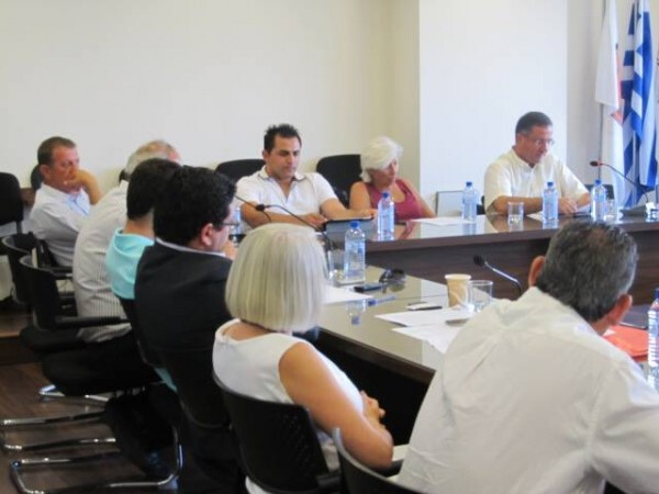 Συνάντηση με Lloyd's Register Energy για λιμάνι Λάρνακας