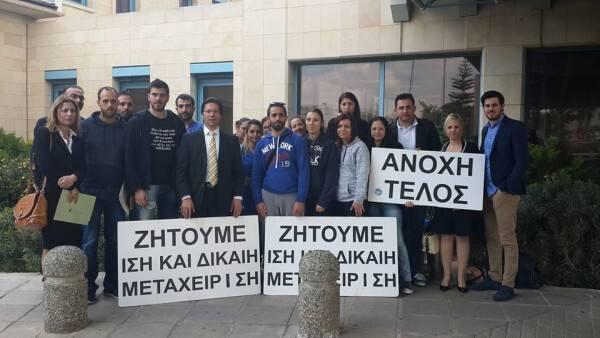 Η Επαρχιακή Επιτροπή ΕΔΕΚ Αμμοχώστου στηρίζει τον αγώνα των νοσηλευτών